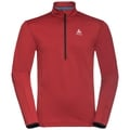 Men's SAIKAI 1/2 Zip Midlayer, red dahlia, large
