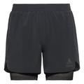 2-in-1 Shorts MILLENNIUM LINENCOOL PRO, black - black, large
