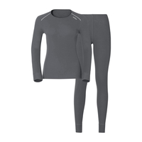 Women's ACTIVE WARM Base Layer Set, castlerock, large