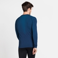 Men's PERFORMANCE LIGHT Long-Sleeve Baselayer Top, estate blue - blue aster, large