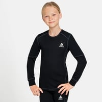 ACTIVE X-WARM ECO KIDS-basislaagtop met lange mouwen, black, large