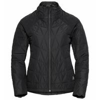 Women's ZAHA Insulated Jacket, black, large