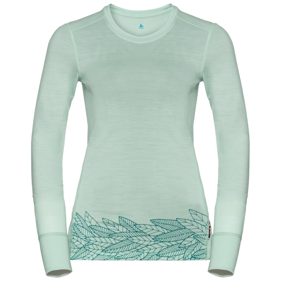 ALLIANCE Baselayer, surf spray - leaves on waist print SS19, large
