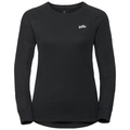 Women's HENRIETTE Long-Sleeve Base Layer Top, black, large