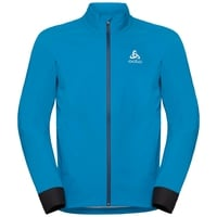 MORZINE RAIN LIGHT-fietsjas voor heren, blue jewel, large