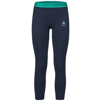 ZEROWEIGHT CERAMICOOL PRO 7/8 Tights, pool green - diving navy, large