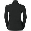 ACTIVE WARM KIDS 1/2 Zip Turtle-Neck Base Layer Top, black, large