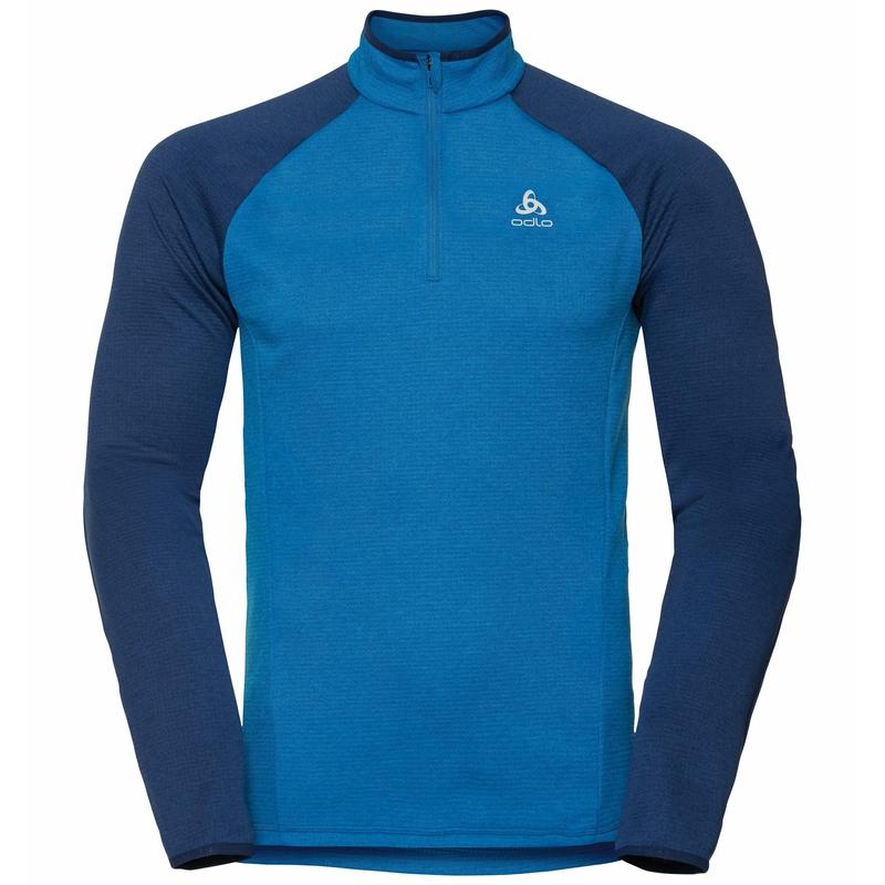Men's PROITA 1/2 Zip Mid Layer, directoire blue - estate blue, large
