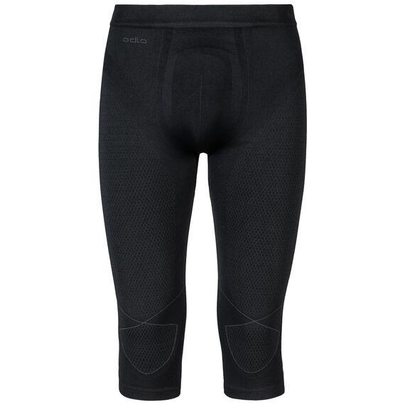 EVOLUTION WARM Baselayer 3/4-Hose, black - odlo graphite grey, large