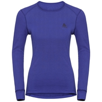 Women's ACTIVE WARM Long-Sleeve Base Layer Top, clematis blue, large