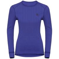 Damen ACTIVE WARM Funktionsunterwäsche Langarm-Shirt, clematis blue, large