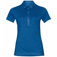 Polo s/s KOYA CERAMIWOOL, energy blue, large