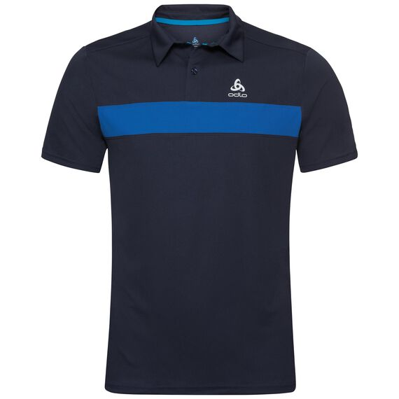 Polo s/s NIKKO LIGHT, diving navy - energy blue, large