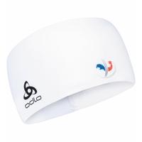 COMPETITION FAN WARM-hoofdband, France Fan White, large