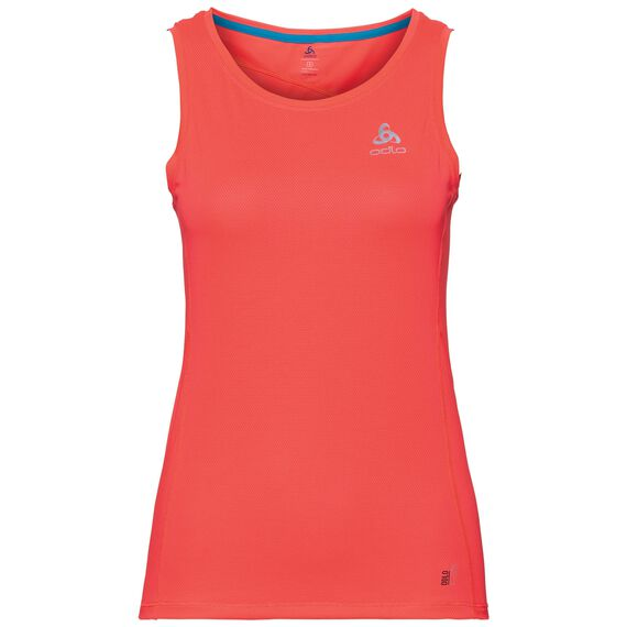 BL TOP Crew neck Singlet OMNIUS F-Dry, fiery coral, large
