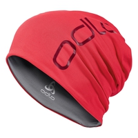 Hat CERAMIWARM REVERS, hibiscus - odlo steel grey, large