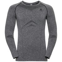 SUW Top Crew neck l/s PERFORMANCE Light, grey melange, large