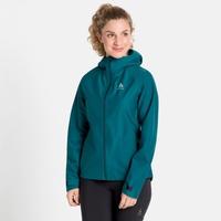 Women's BLACKCOMB FUTUREKNIT 3L Hardshell Jacket, submerged, large