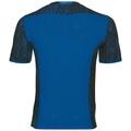 BL TOP CeramiCool Pro Print kurzärmeliges Oberteil mit Rundhalsausschnitt, energy blue, large