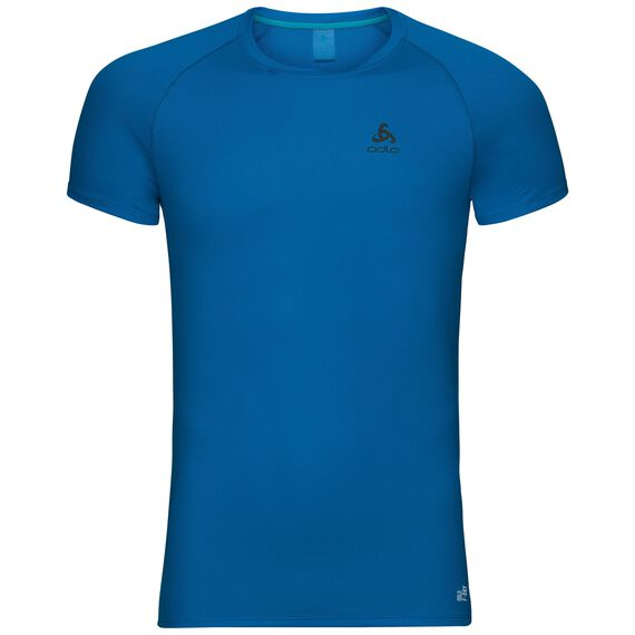 SUW TOP Crew neck s/s ACTIVE F-DRY LIGHT, energy blue, large