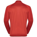 Men's FLI CERAMIWARM Full-Zip Midlayer Top, poinciana - stripes, large
