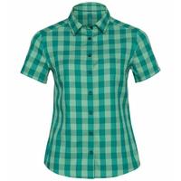 Camicia Mythen, creme de menthe - quetzal green - check, large
