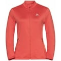 Women's ALAGNA Full-Zip Midlayer Top, burnt sienna, large