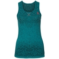 BL TOP Crew neck Singlet BLACKCOMB, crystal teal - pool green, large
