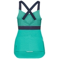 Singlet with integrated top CERAMICOOL X-LIGHT, pool green, large
