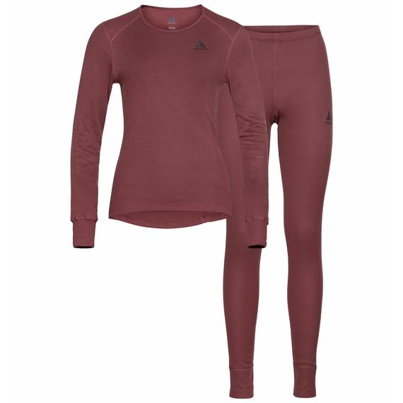 Ensemble de sous-vêtements techniques ACTIVE WARM ECO pour femme, roan rouge, large