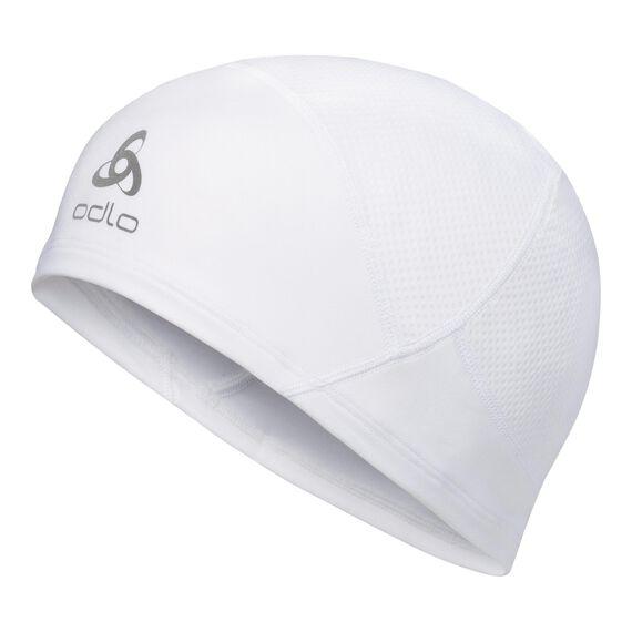 BEANIE POLYKNIT LIGHT Hat unisex, white, large