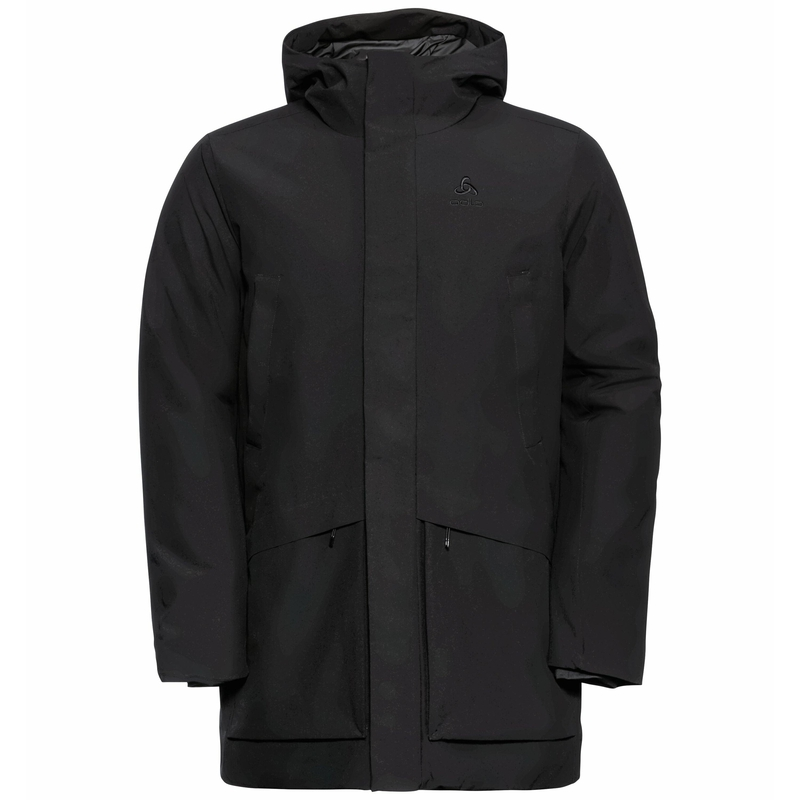 The Halden S-Thermic parka, black, large