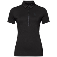 SHELBY kurzärmeliges Polohemd, black, large