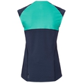 BL TOP rund hals kortermet Ceramicool, diving navy - pool green, large