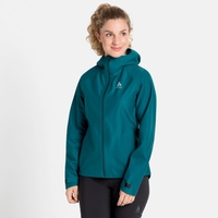 Damen BLACKCOMB FUTUREKNIT 3L Hardshell-Jacke, submerged, large