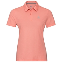 Women's F-DRY Polo Shirt, coral haze, large