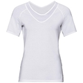 LOU MESH Baselayer T-Shirt, white, large