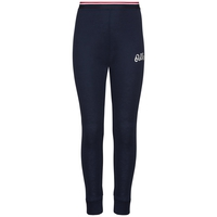 ACTIVE WARM ORIGINALS KIDS Base Layer Pants, diving navy - placed print FW19, large