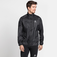 Men's ZEROWEIGHT Running Jacket, black, large