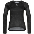 Women's ZEROWEIGHT CERAMIWARM Cycling Baselayer Top, black - graphic FW20, large