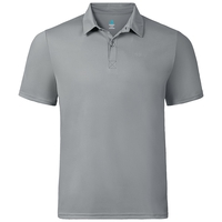 Polo manches courtes CARDADA, odlo concrete grey, large