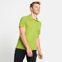 Men's F-DRY Polo Shirt, macaw green, large