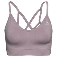 SEAMLESS SOFT Sport-BH, quail - grey melange, large