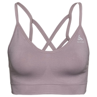 Sports Bra SEAMLESS SOFT, quail - grey melange, large