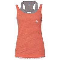MILLENNIUM LINENCOOL-fietshemd voor dames, hot coral, large