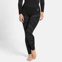 NATURAL + KINSHIP WARM-basislaagbroek voor dames, black melange, large