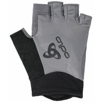 ACTIVE Gloves Short, odlo steel grey, large