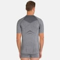 SUW Top Crew neck s/s PERFORMANCE Light, grey melange, large
