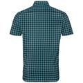 NIKKO CHECK Hemd, diving navy - baltic - check, large