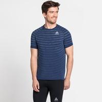 Men's BLACKCOMB PRO T-Shirt, estate blue - space dye, large